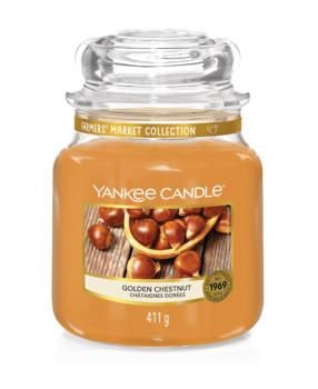 Moyenne Jarre Golden Chestnut Yankee Candle