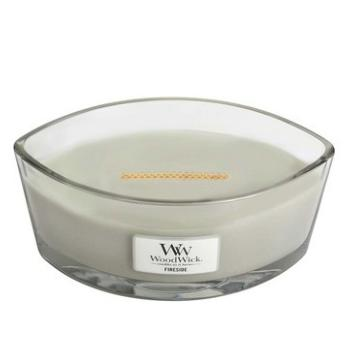 Bougie Ellipse fireside / Au coin du feu Woodwick