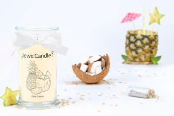 Bougie Piña Colada ( Collier) Jewel Candle