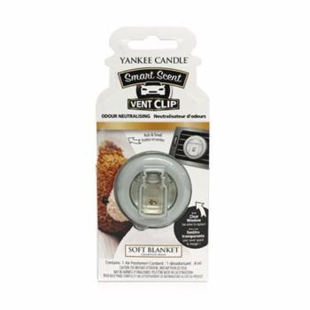 Clip Smart Scent Soft Blanket Yankee Candle