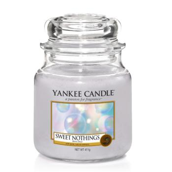 Moyenne Jarre Sweet Nothings / Mots Doux Yankee Candle