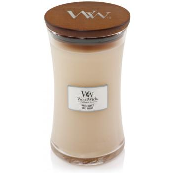 Woodwick Grande Jarre White Honey / Miel Blanc