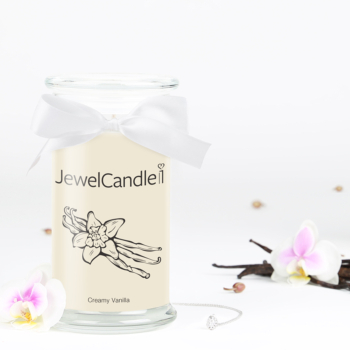 Creamy Vanilla (Collier) Jewel Candle