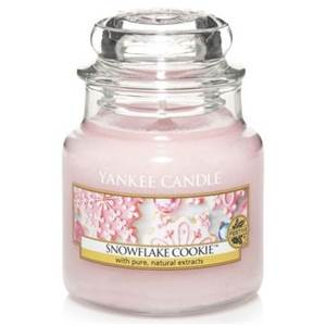 Moyenne Jarre Snowflake Cookie / Flocon Sucrées Yankee Candle