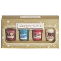 Coffret de 4 Bougies Votives Yankee Candle