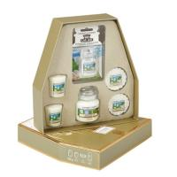 Coffret découverte parfum Clean Cotton Yankee Candle