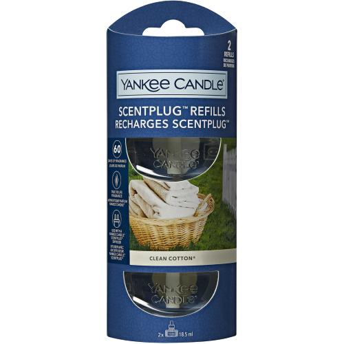 Recharge Pour Prise Clean Cotton Yankee Candle