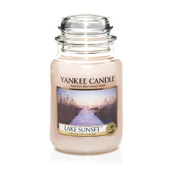 Candle Store GRANDE JARRE LAKE SUNSET / COUCHER DE SOLEIL AU LAC YANKEE CANDLE