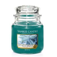 Moyenne Jarre Icy Blue Spruce / Sapin enneigé Yankee Candle