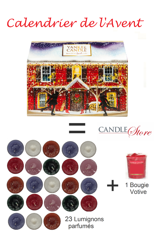 calendrier de l 39 avent maison de chez yankee candle. Black Bedroom Furniture Sets. Home Design Ideas
