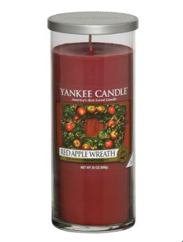 Grande Colonne Red Apple Wreath Yankee Candle