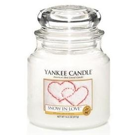 Moyenne Jarre Snow In Love / L'amour D'hiver Yankee Candle