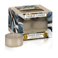Boite De 12 Lumignons Seaside Woods de Yankee Candle